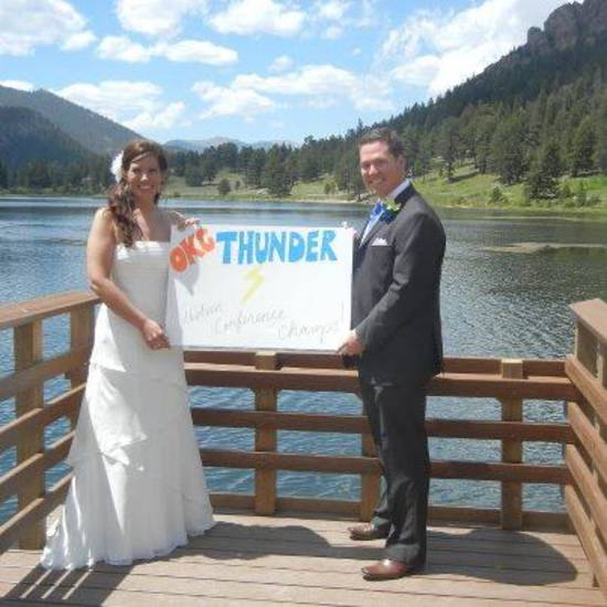 Wedding Thunder! From our wedding on June 7, 2012, in Estes Park, Colorado!