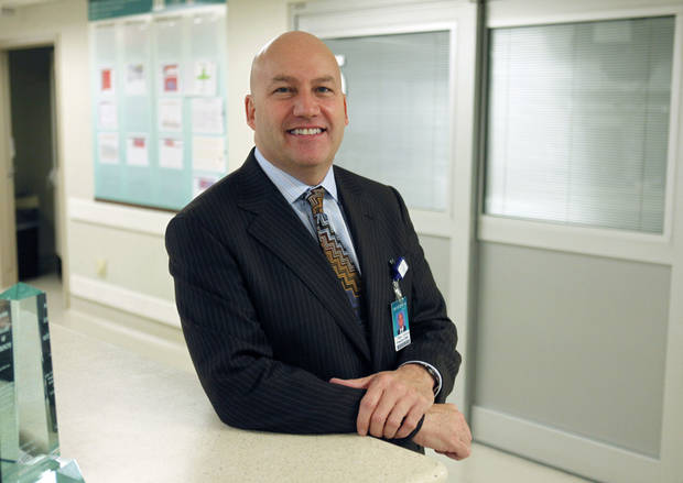 Tim Johnsen is the new president of Integris Medical Center in Oklahoma City. Photo by Paul Hellstern, The Oklahoman <strong>PAUL HELLSTERN</strong>