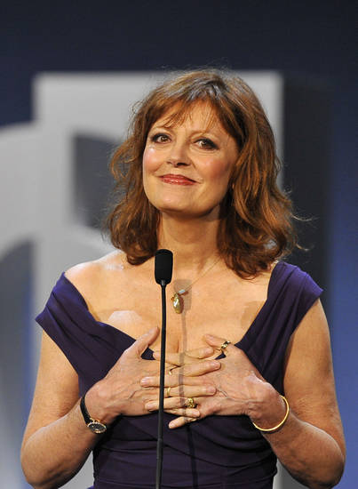 Susan Sarandon <strong>Alvaro Barrientos</strong>