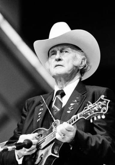 Bill Monroe in 1983 (AP file)