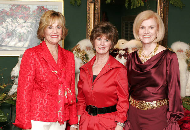 Susan Johnston, Barbara Brou and Judy Love. - PHOTO BY DAVID FAYTINGER,  FOR THE OKLAHOMAN