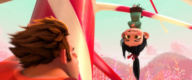 "John C. Reilly and Sarah Silverman lend their voices to ""Wreck-It Ralph."""
