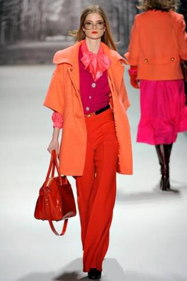 From the fall 2011 Milly collection shown on the runway in New York.