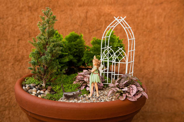 "From ""Fairy Gardening"" by Julie Bawden-Davis and Beverly Turner. Photo provided."