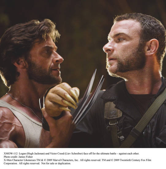 Logan (Hugh Jackman) and Victor Creed (Liev Schreiber) face off for the ultimate battle against each other.