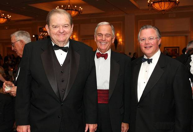 Bob Barry Sr., Jim Daniel, Cliff Hudson.  PHOTO BY DAVID FAYTINGER, FOR THE OKLAHOMAN