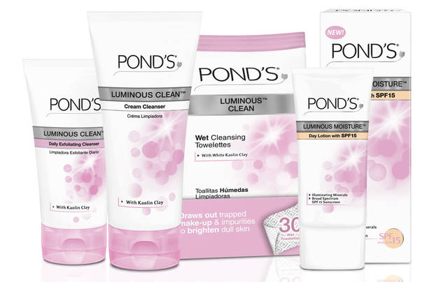 Pond's Luminous Line.  (PRNewsFoto/Unilever North America)