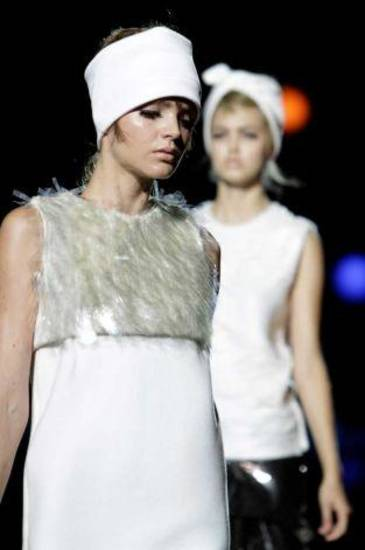 Marc Jacobs for spring 20112 shown during Fashion Week in New York. AP PHOTO