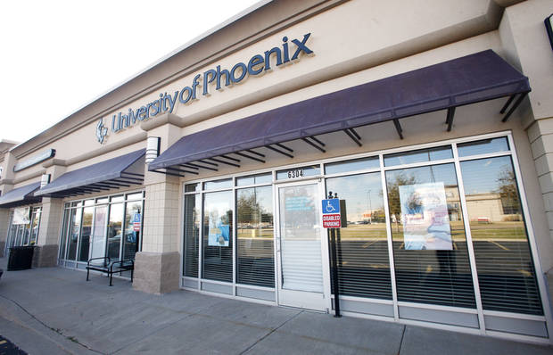 University of Phoenix West OKC Learning Center, 6304 SW 3 Street, in Oklahoma City Thursday, Nov. 15, 2012. Photo by Paul B. Southerland, The Oklahoman