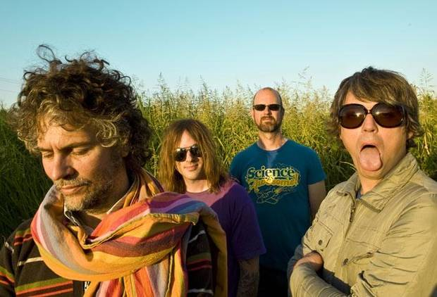 The Flaming Lips, from left: Wayne Coyne, Kliph Scurlock, Michael Ivins, Steven Drozd.
