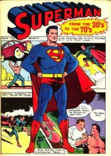 """Superman from the 30s to the 70s"" was edited by E. Nelson Bridwell"