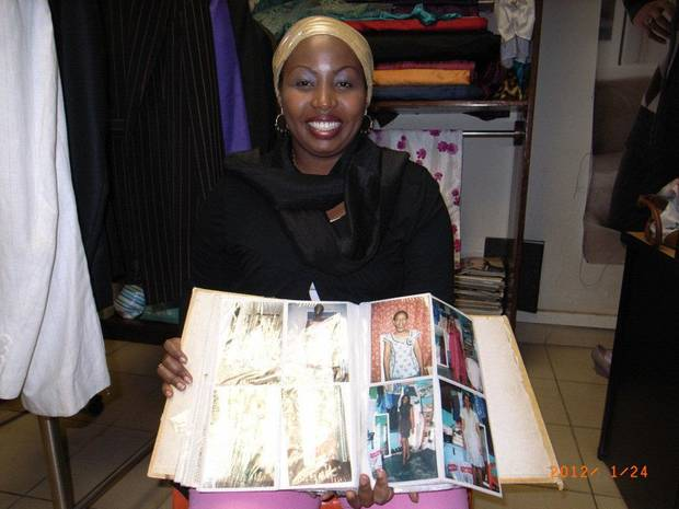 Amani Kalisa is one in a group of Afghan and Rwandan women who will be in America until July 25, learning techniques for sucessfully running their businesses. Kalisa is owner of Amani K. Creations, a fashion house based in Kigali, Rwanda. Photo provided. <strong></strong>