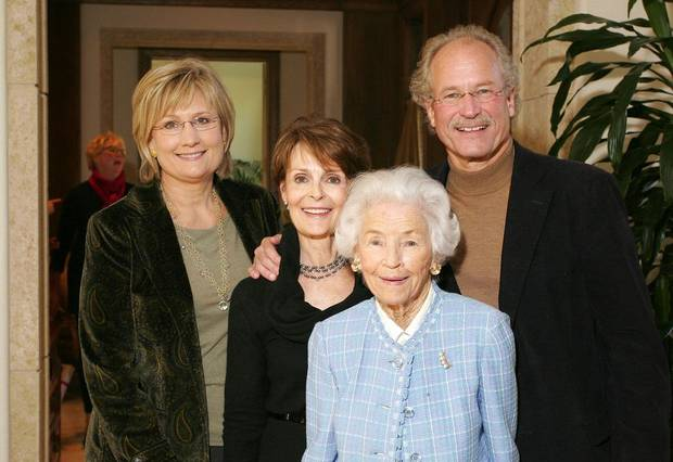 Mary Kay Samis, Susan Hoffman, Marion Devore, Peter Hoffman. - Photo By David Faytinger, For The Oklahoman