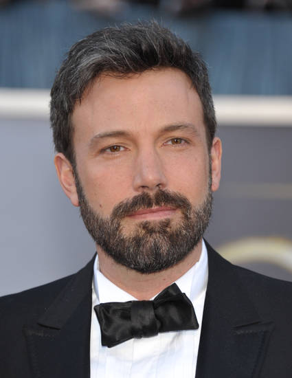 Actor and director Ben Affleck arrives at the Oscars at the Dolby Theatre on Sunday Feb. 24, 2013, in Los Angeles. (Photo by John Shearer/Invision/AP)