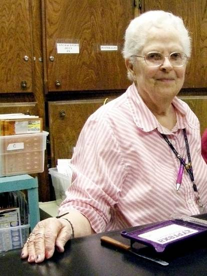 Dorthea Copeland has been running Pottawatomie County&#039;s free medical clinic for 14 years. Photo by Warren Vieth, Oklahoma Watch.