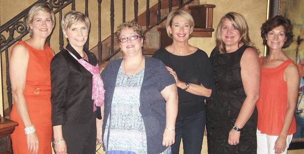 Millonn Lilly, Lisa Blackburn, Suzy Smith, Amy Edwards, Michelle Nisbett, and Suzanne Bockus. PHOTO PROVIDED