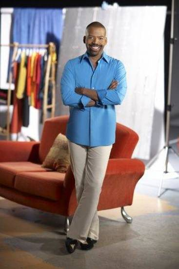"Style expert Lloyd Boston of ""Closet Cases"" on Fine Living Network."