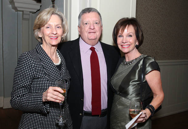 Sue Phillips, Jim Fellers, Susan Sigmon. PHOTO BY DAVID FAYTINGER <strong></strong>