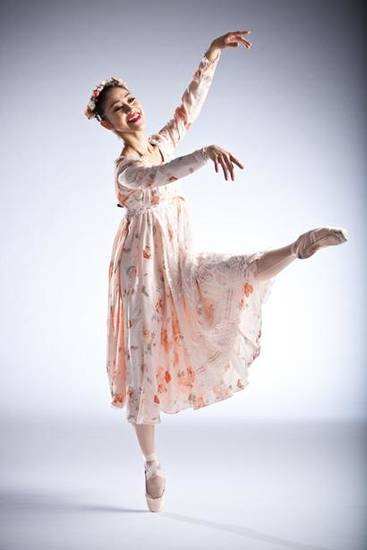 "Principal dancer Miki Kawamura performs as Belle in Oklahoma City Ballet's new production of ""Beauty and the Beast."" Company artist DaYoung Jung also is dancing as Belle during the three-show run, while principal dancers Ronnie Underwood and Yui Sato split time as the Beast. Photo provided by Simon Hurst"