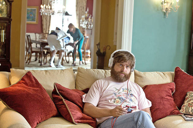 This undated publicity photo released by Warner Bros. Pictures shows Zach Galfianakis as Alan in Warner Bros. Pictures� and Legendary Pictures� comedy �The Hangover Part III,� a Warner Bros. Pictures release. (AP Photo/Warner Bros. Pictures, Melinda Sue Gordon) ORG XMIT: CAPH960