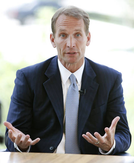 Chesapeake Energy's new CEO Doug Lawler in Oklahoma City, Friday June 14, 2013. Photo By Steve Gooch, The Oklahoman