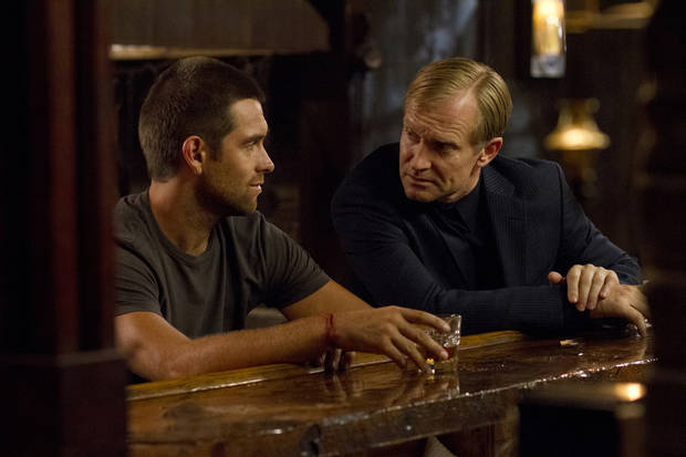 """From left, Antony and Ulrich Thomsen in """"Banshee"""" - Photos courtesy: Fred Norris/Cinemax."""