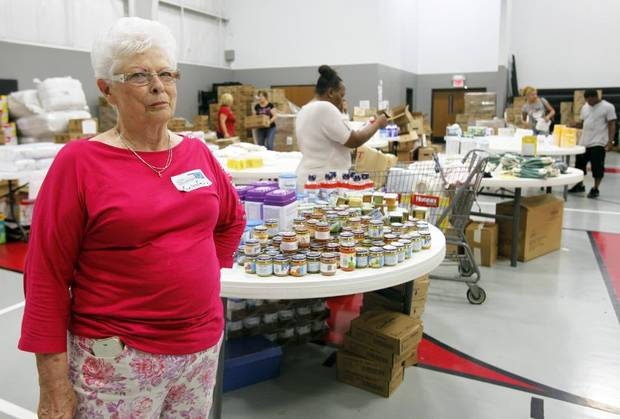 Evelyn Ogilvie couldn't be more happy spending her time helping those in need.