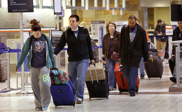 Will Rogers World Airport was prepared for the onslaught of holiday travelers who converged there Wednesday, Nov. 21, 2012, in advance of the Thanksgiving holiday. Several thousand air travelers were expected to fly in and out of Oklahoma City's commercial airport. Photo by Jim Beckel, The Oklahoman