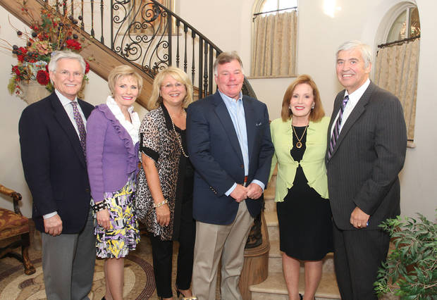 Larry and Darlene Parman, Vicki and Bob Howard, Carol and Don Kaspereit. Photo by David Faytinger for The Oklahoman__