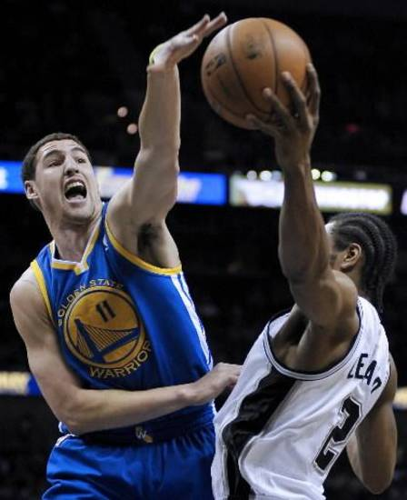 Golden State Warriors' Klay Thompson. (AP Photo/Darren Abate)