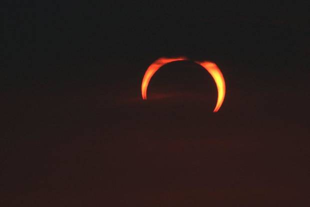 Solar Eclipse #1, May 20, 2012 near Sweetwater, Ok