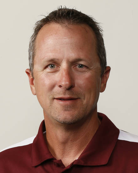 Jeff Craig, Blanchard football coach, poses for a mug shot during The Oklahoman's Fall High School Sports Photo Day in Oklahoma City, Wednesday, Aug. 15, 2012. Photo by Nate Billings, The Oklahoman