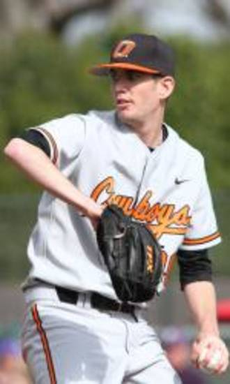 Cowboys left-hander Kyle Ottoson wasn't the fastest pitcher in Tuesday's Bedlam clash, but he was the most effective.