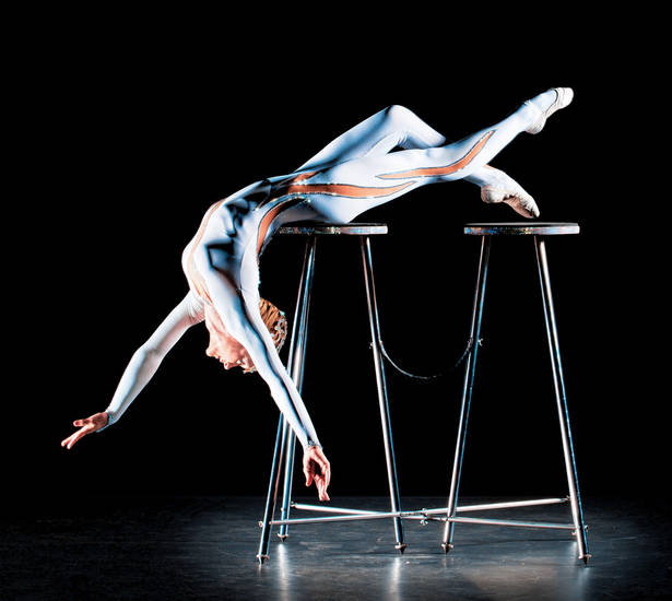 Contortionist Elena Tsarkova Photo provided