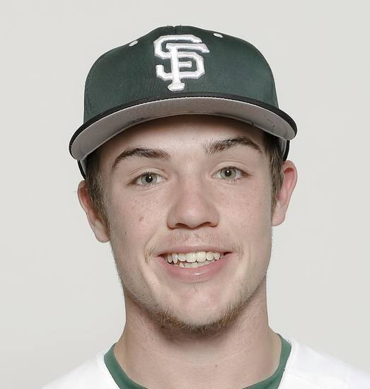 Edmond Santa Fe outfielder Garrett Greenwood has decided to attend the Massachusetts Institute of Technology. Photo by Chris Landsberger, The Oklahoman