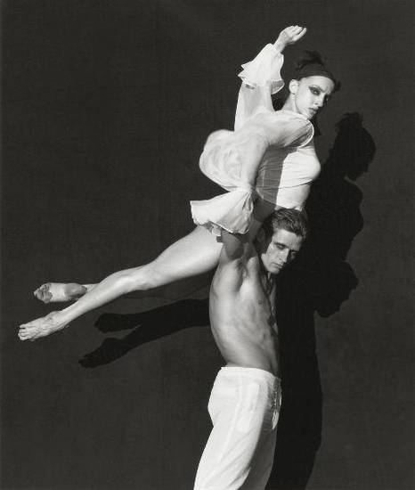 "Herb Ritts' ""Corp et Ames,"" from 1999, is featured in the new exhibit ""Herb Ritts: Beauty and Celebrity"" at the Oklahoma City Museum of Art. Photo provided by the Herb Ritts Foundation."