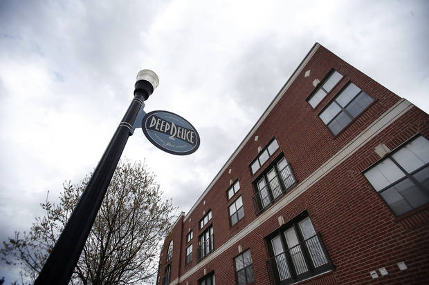 The Deep Deuce at Bricktown apartments were bought by a California-based real estate investment trust.