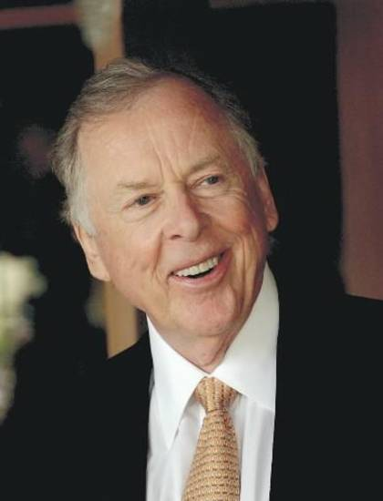 T. Boone Pickens. Photo provided.