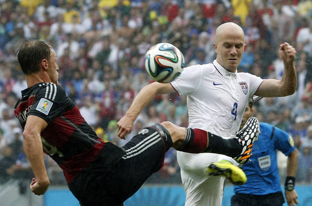 If the U.S. is going to beat Belgium, Michael Bradley has to step up. (AP Photo/Matthias Schrader)