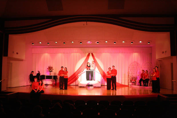 Oklahoma Christian University will present its 24th annual Valentine Cabaret dinner theater Feb. 14-16. photo provided