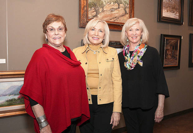 Pat Edwards, Margaret Pate, Dorothy Woolbright.  PHOTOS BY DAVID FAYTINGER, FOR THE OKLAHOMAN