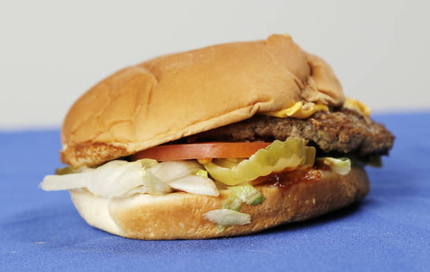 Sonic secret menu item, Hickory Burger, Tuesday, April 9, 2013. Photo by Doug Hoke, The Oklahoman