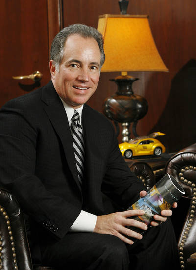 Scott Thompson, CEO of Dollar Thrifty Automotive Group Inc., is shown in the company's Tulsa headquarters office in October  2009. Photo by Jim Beckel, The Oklahoman Archives <strong>Jim Beckel - The Oklahoman</strong>