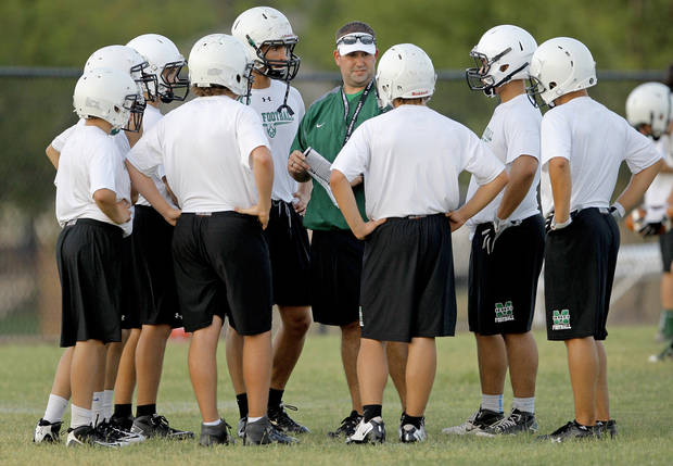 Bishop McGuinness is working on picking up the pace on offense. PHOTO BY BRYAN TERRY, THE OKLAHOMAN