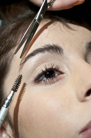 Full and shapely brows are back. A little trim prevents unruly eyebrow hairs. (MCT)