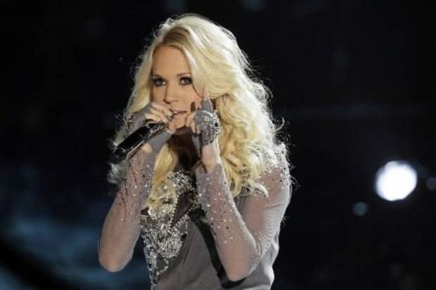 """Underwood sings the chart-topping title track from her new album, """"Blown Away."""""""