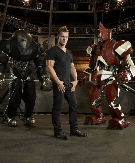 ROBOT COMBAT LEAGUE -- Season: 1 -- Pictured: Chris Jericho (Photo by: Tommy Garcia/SyFy)