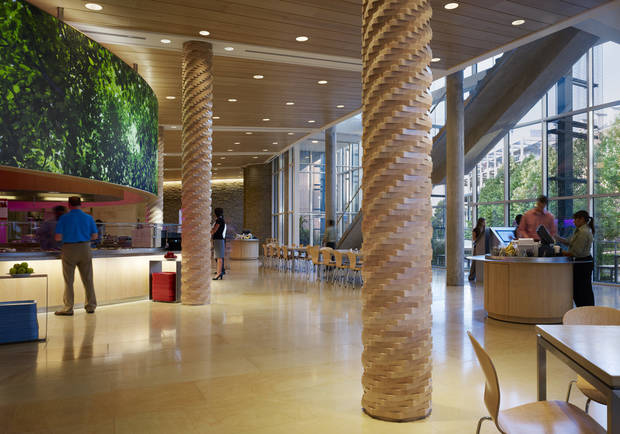 Nail Commercial Interiors LLC won a Build Oklahoma Award for its work inside Chesapeake Energy Corp.�s Building 12.  PHOTOS PROVIDED BY ASSOCIATED GENERAL CONTRACTORS OF OKLAHOMA-BUILDING CHAPTER