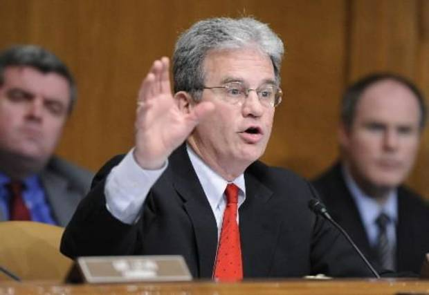 Republican Sen.  Tom  Coburn, R-Okla., - AP Photo