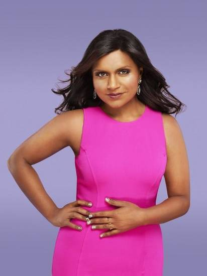 "THE MINDY PROJECT: Created by Emmy-nominated writer/producer and New York Times best-selling author Mindy Kaling (""The Office""), THE MINDY PROJECT features Kaling as a skilled OB/GYN navigating the tricky waters of both her personal and professional life, as she pursues her dreams of becoming the perfect woman, finding the perfect man and getting her perfect romantic comedy ending in the new comedy THE MINDY PROJECT premiering Tuesday, Sept. 25 (9:30-10:00 PM ET/PT) on FOX.  ©2012 Fox Broadcasting Co. Cr: Autumn De Wilde/FOX"